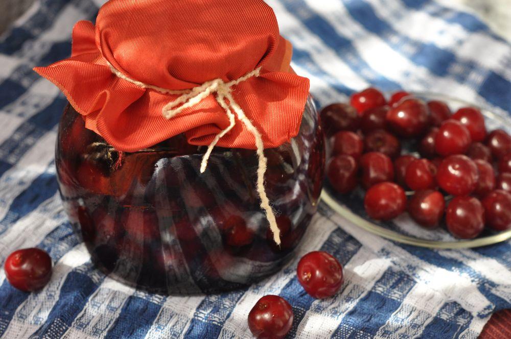 варенье из вишни самый простой рецепт