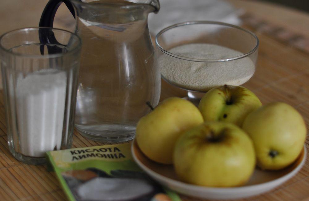 рецепт мусса яблочного без манной крупы